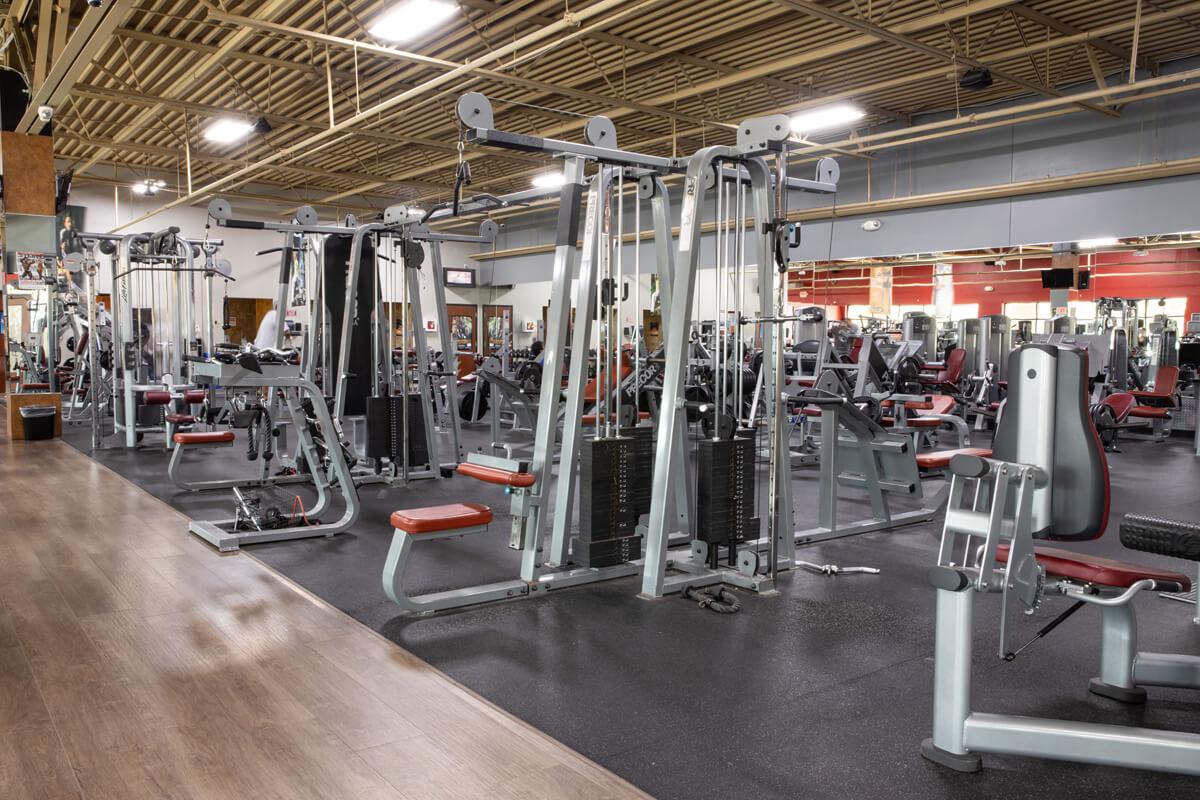 An Image of the Ypsilanti, MI Powerhouse Gym Location