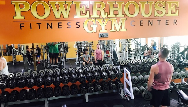 An Image of the Berea, OH Powerhouse Gym Location