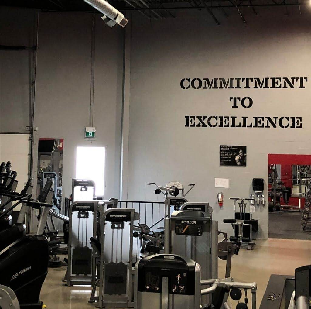 An Image of the Mississauga, Canada Powerhouse Gym Location